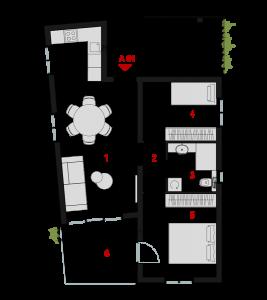 Parcela 2 - prizemlje